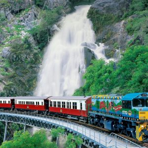 Kuranda Train and Skyrail and Green Island