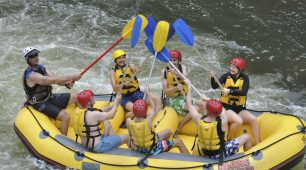 Whitewater Rafting and Green Island