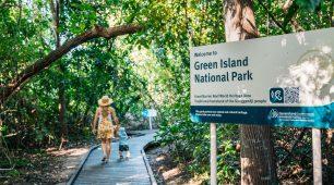 Green Island Day trip